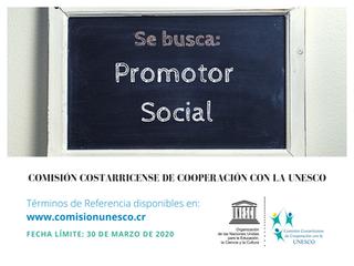 CCCU requiere contratar los servicios de un Promotor Social