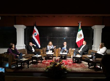 Costa Rica y México: relación de siglos