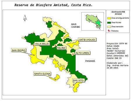 Reserva de Biosfera Amistad, Costa Rica