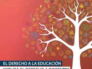 En el Día Mundial del Docente laCCCU invita a reflexionar sobre la labor del educador