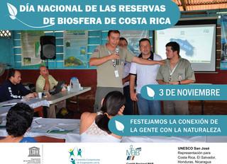 Costa Rica conmemora el Día Nacional de las Reservas de Biosfera