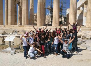 Delegación de la RedPEA CR participa en Simposio en Olimpia, Grecia