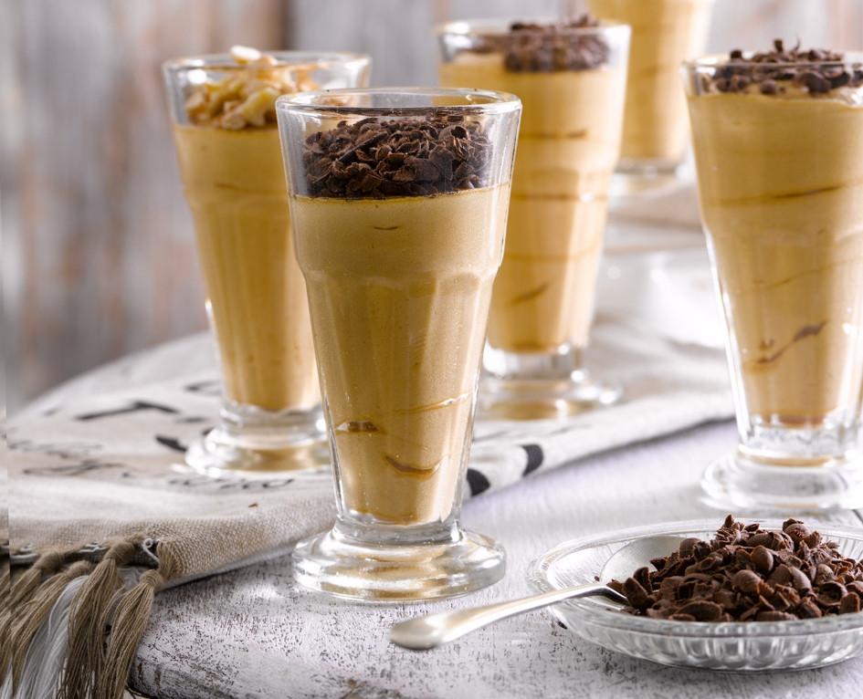 Receta Mousse de dulce de leche