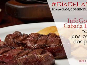 Ganate una cena especial en Cabaña Las Lilas