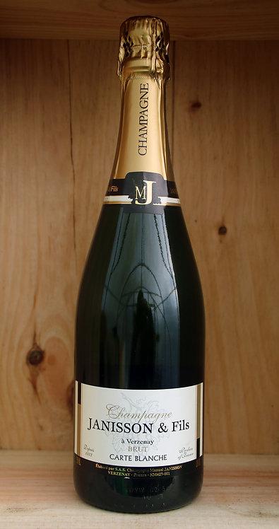 Janisson & Fils Carte Blanche Brut Champagne Grand Cru 'Verzenay'