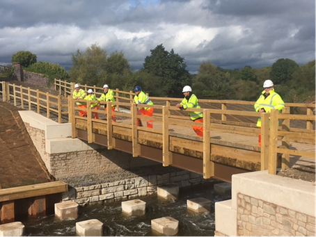 Bevere Fish Pass Opens!