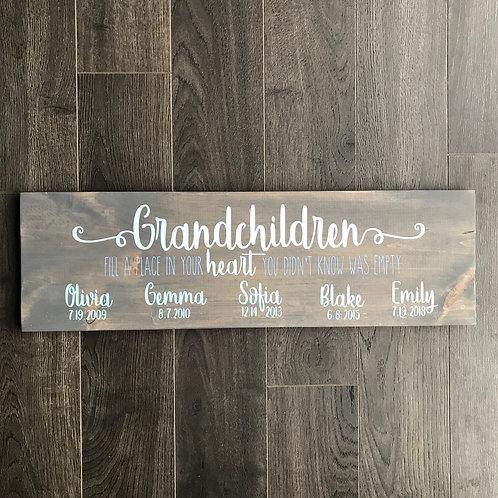 Board Art - Grandchildren