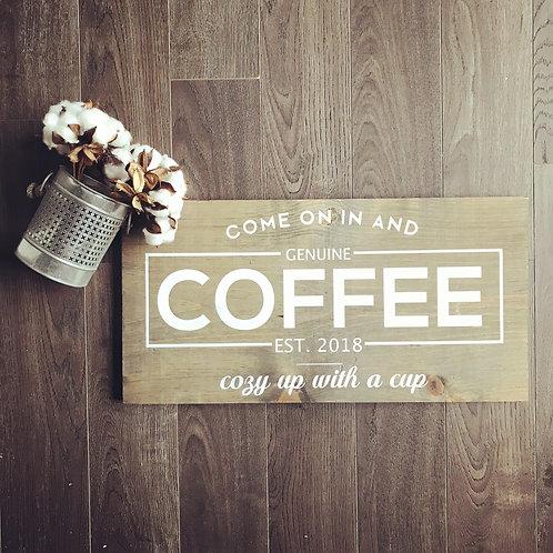 Board Art - Coffee
