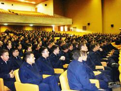 Participação dos cadetes de todos os esquadrões