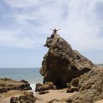 Em alguma praia da Angola