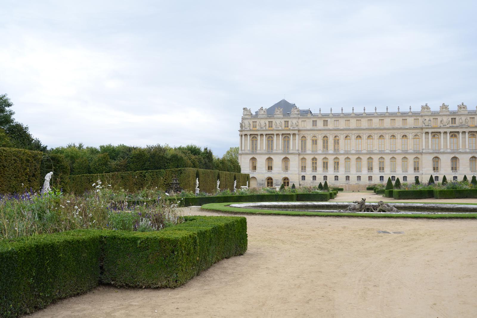 Versailles color landscape