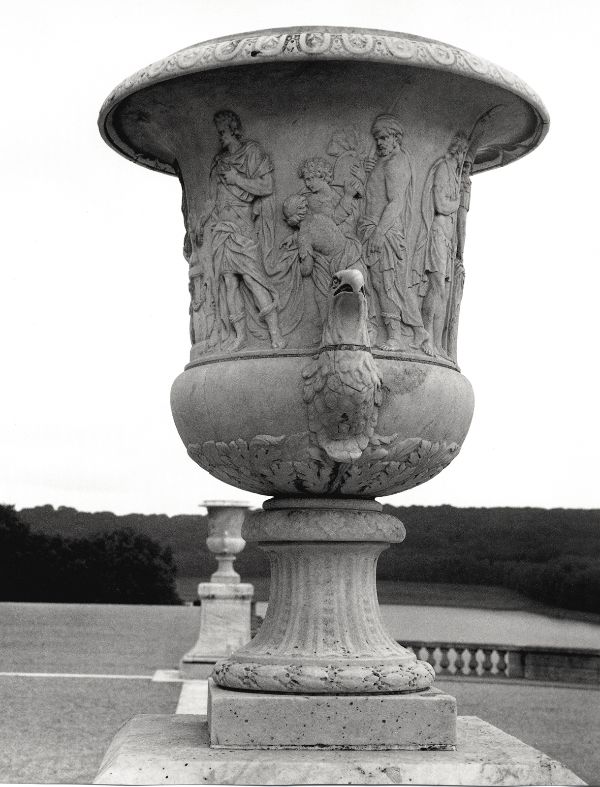 Versailles urn with eagle