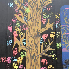 East Finchley Tree Mural