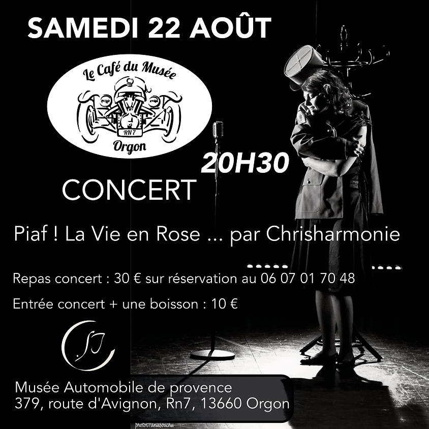 Concert Piaf par Chrisharmonie
