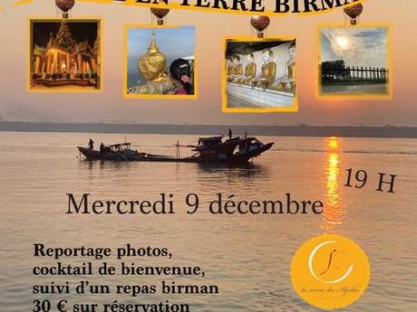 Voyage en terre birmane