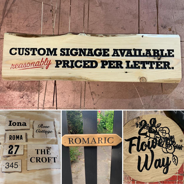 Custom Signage!