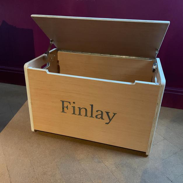 A Toybox for my Nephew!