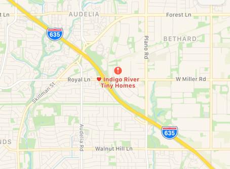 Indigo River is Moving!