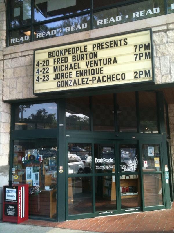 Book People in Austin Texas