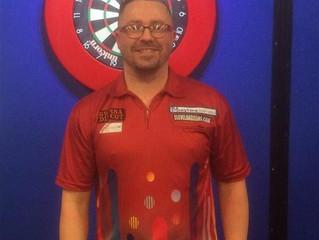 Bluestone Sponsor PDC Darts Player Rob Owen