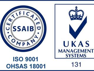 ISO9001 OSHAS18001