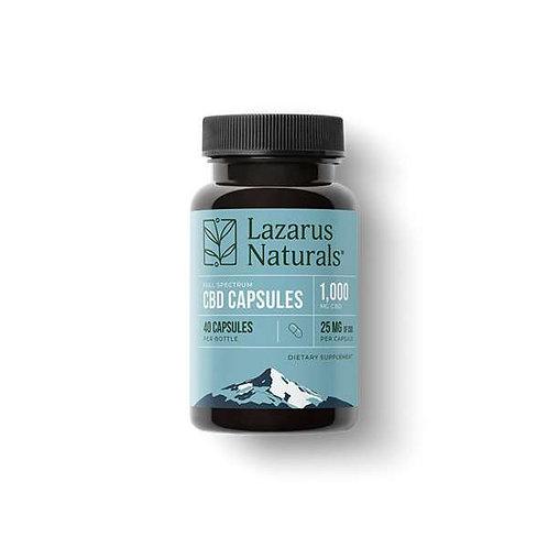 Lazarus Naturals 25mg CBD Capsules