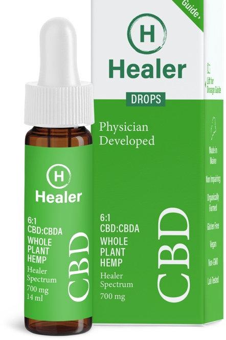 Whole Plant Hemp CBD Drops