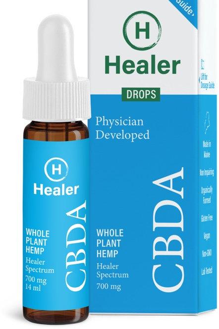 Whole Plant Hemp CBDA Drops