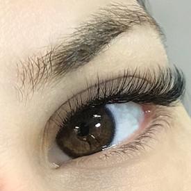 Mixed Eyelash Extensions