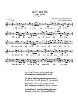 426-Bayâti/ Ol Ki Sevdâ
