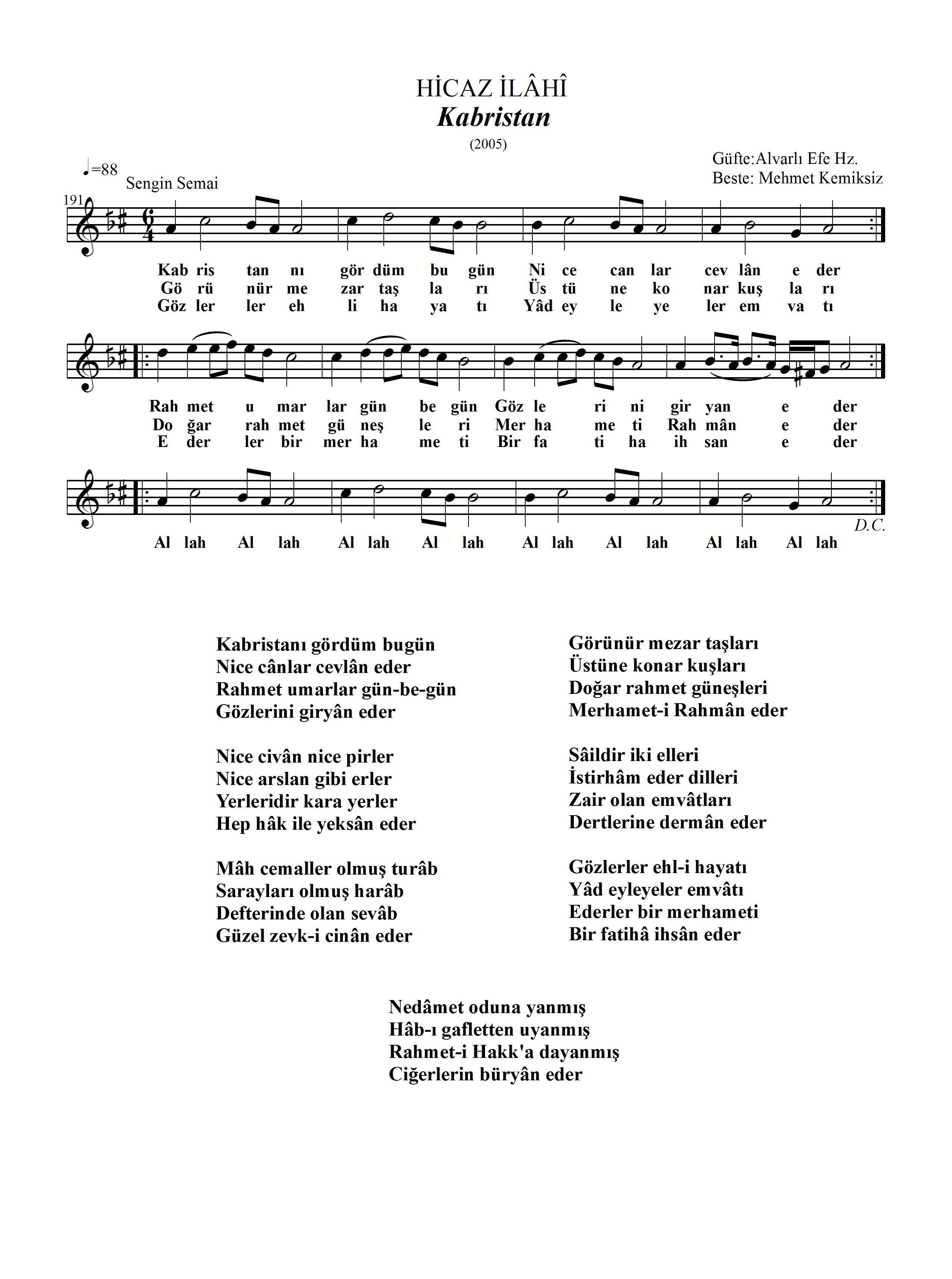 191-Hicaz-Kabristan