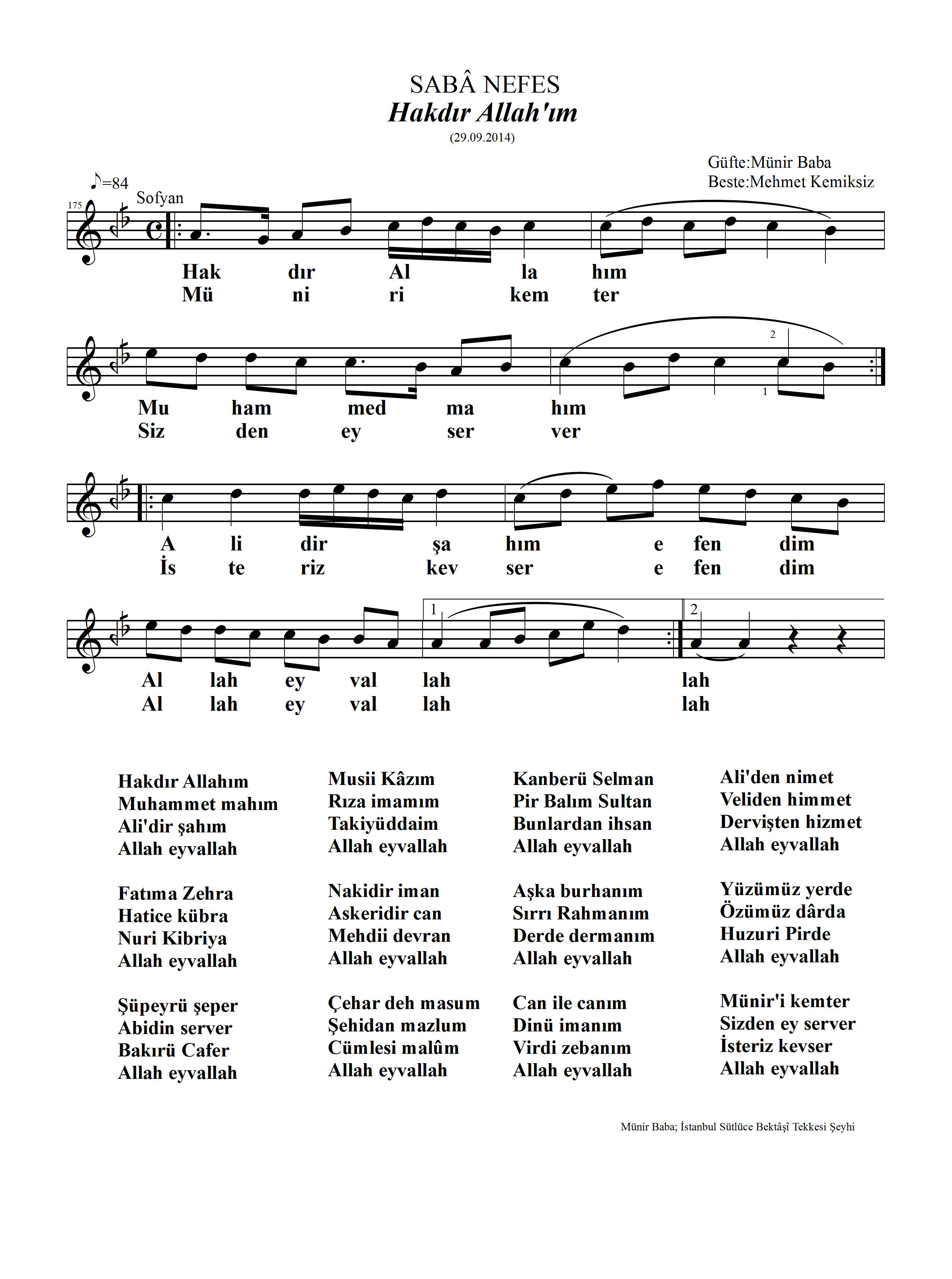 175-Saba-Hakdir Allahim