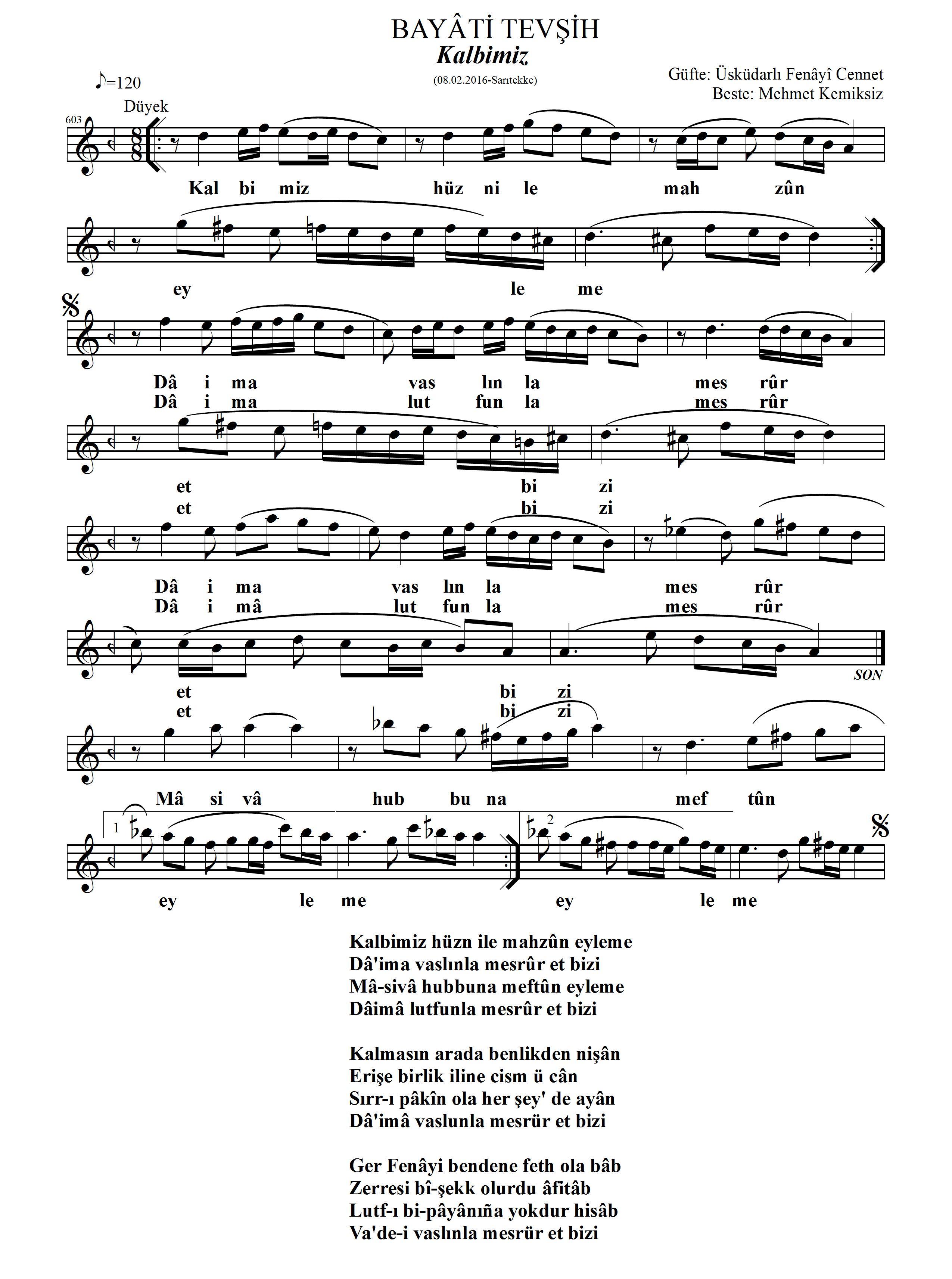 603-Beyati-Kalbimiz