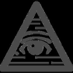 ピラミッドアイのフリーイラスト4