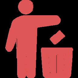 ゴミ箱のフリーアイコン