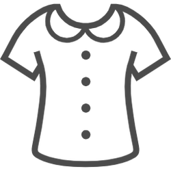 服のイラスト素材