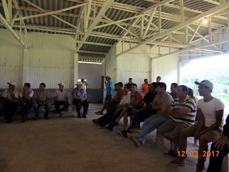 Reuniões do Projeto SELO SOCIOAMBIENTAL DA AGROFLORESTA FAXINALENSE avançam