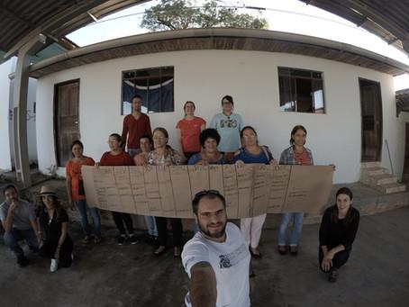Grupo Interconexões desenvolve atividades referentes ao PROJETO SELO DA AGROFLORESTA FAXINALENSE na