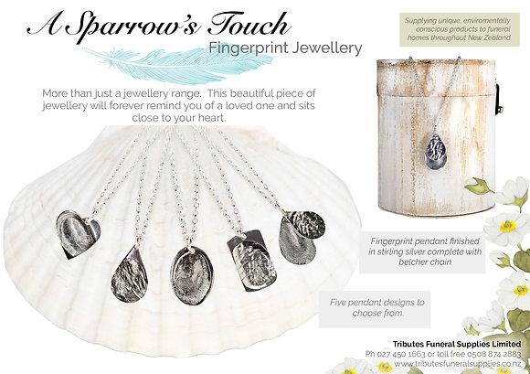 Fingerprint Jewellery brochure