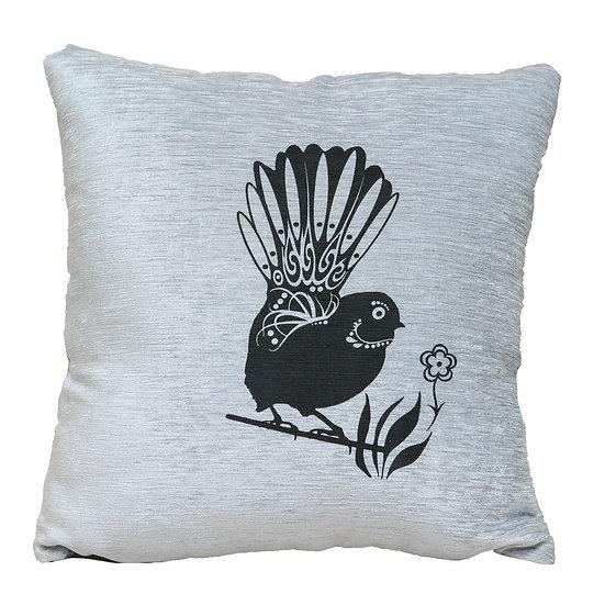Piwakawaka - Fantail - Cushion cover