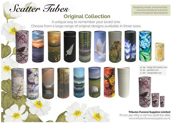 Originals Scatter Tube brochure