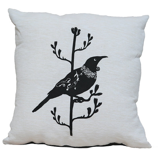 New Zealand Tui  Cushion cover