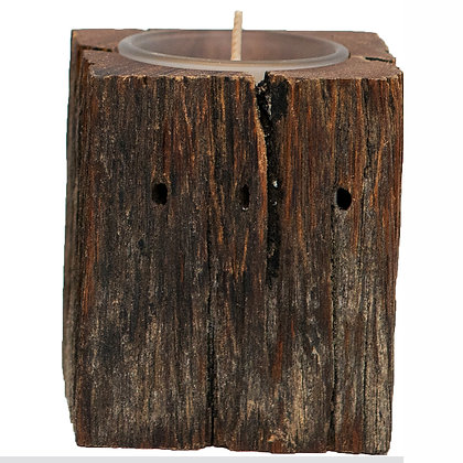 remembrance candle cremation ash rustic woodland new zealand made ©tributes funeral supplies