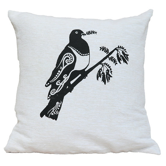 Kereru - Wood Pigeon - Cushion cover