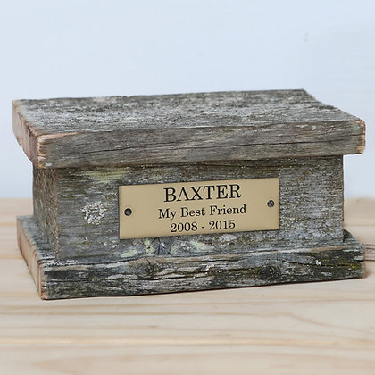 Pet cremation ash remembrance urn woodland nz made ©tributes funeral supplies