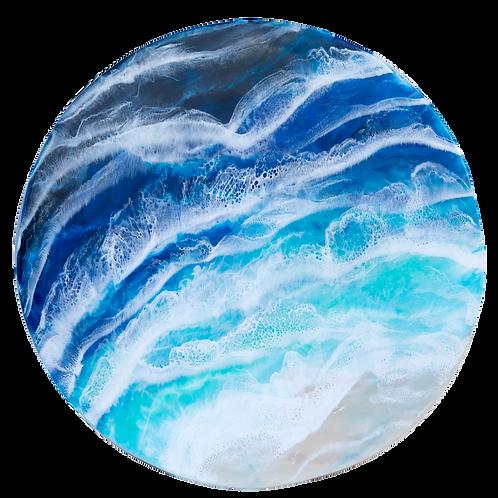 ocean resin wall art round starfish photos   Design, Dunedin