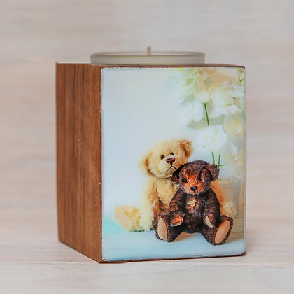 remembrance candle cremation ash custom design resin photo ©tributes funeral supplies