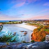 Photo brighton beach Dunedin at sunrise.jpg