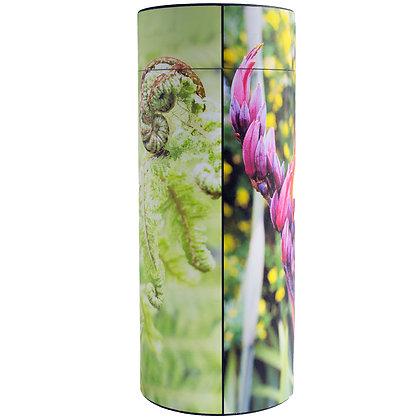 remembrance cremation ash scatter tube new zealand spring koru fern pohutakawa flax kowhai ©tributes funeral supplies