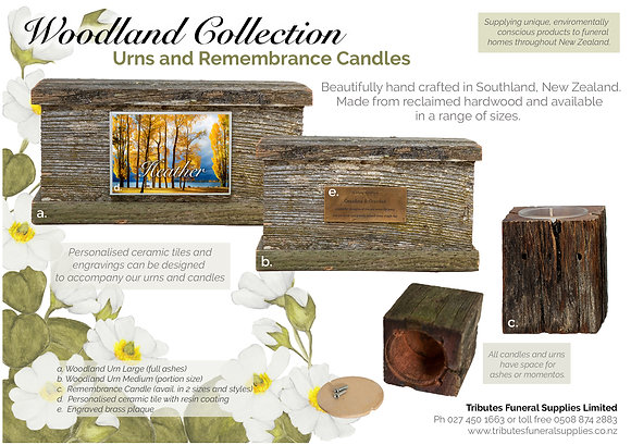 Woodland Collection brochure
